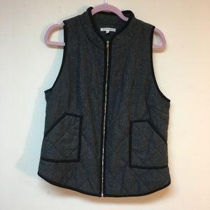 Stitch Fix 41 Hawthorn Herringbone Vest Quilted